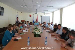 Расширенное планерное совещание с руководителями территориальных и федеральных органов государственной власти