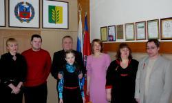 В Славгороде наградили победителей эстафеты родительского подвига